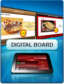 Digital Board – extension for Microinvest eMenu Pro - attract clients and advertise your business